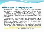 r f rences bibliographiques