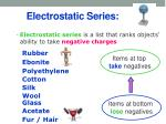 electrostatic series1