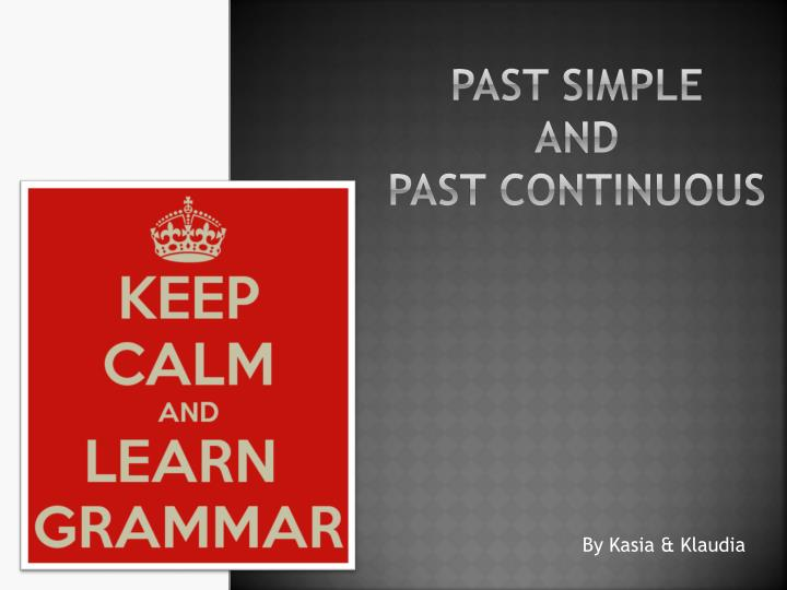 past simple and past continuous n.