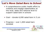 let s move salad bars to school