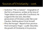 sources of christianity cont1