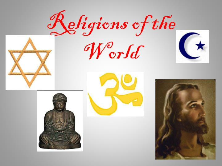 religions of the world n.
