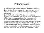 peter s house