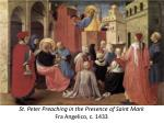 st peter preaching in the presence of saint mark fra angelico c 1433
