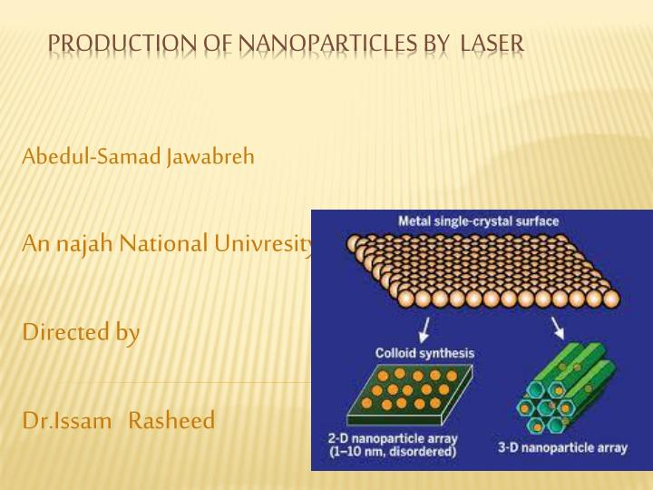 abedul samad jawabreh an najah national univresity directed by dr issam rasheed n.