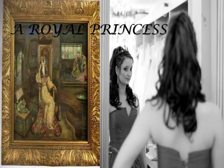 a royal princess n.