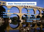 main themes and symbols