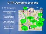 c tip operating scenario
