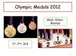 olympic medals 2012