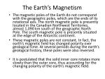 the earth s magnetism1