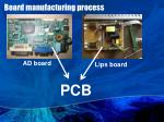 board manufacturing process