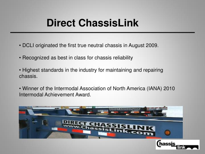 Direct ChassisLink