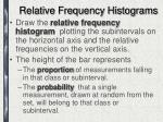 relative frequency histograms2