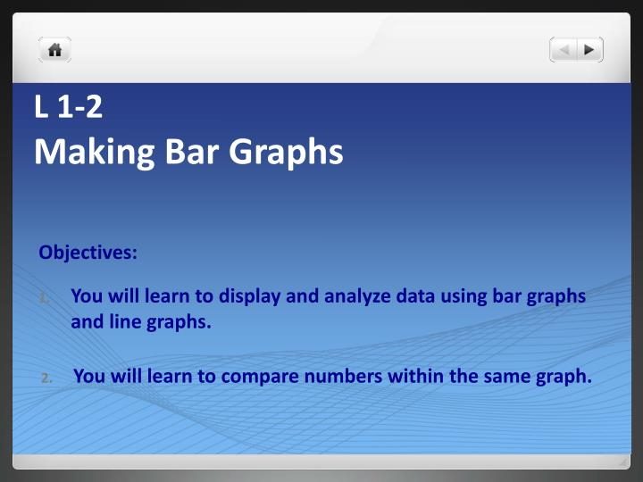 l 1 2 making bar graphs n.