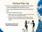 partner pair up