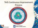 tais continuous improvement process