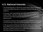 u s national interests