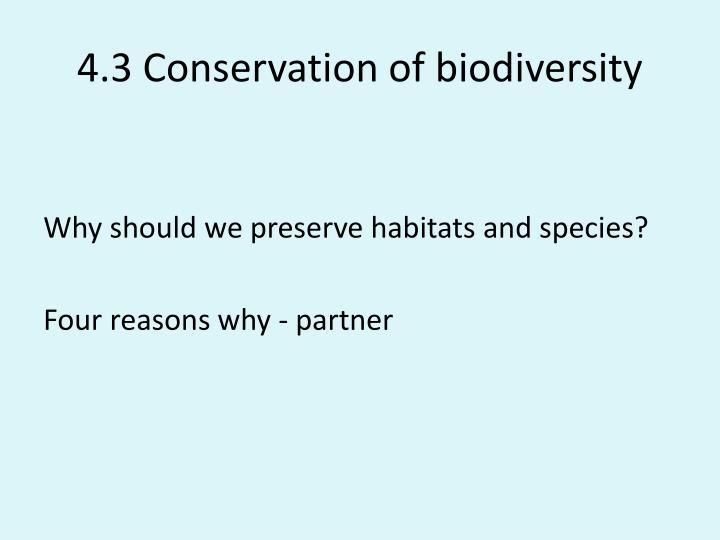 4 3 conservation of biodiversity n.