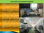 our plastic mold making equipment