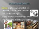 understand stress