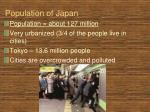 population of japan