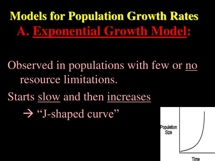 Models for Population Growth Rates