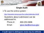 single audit2