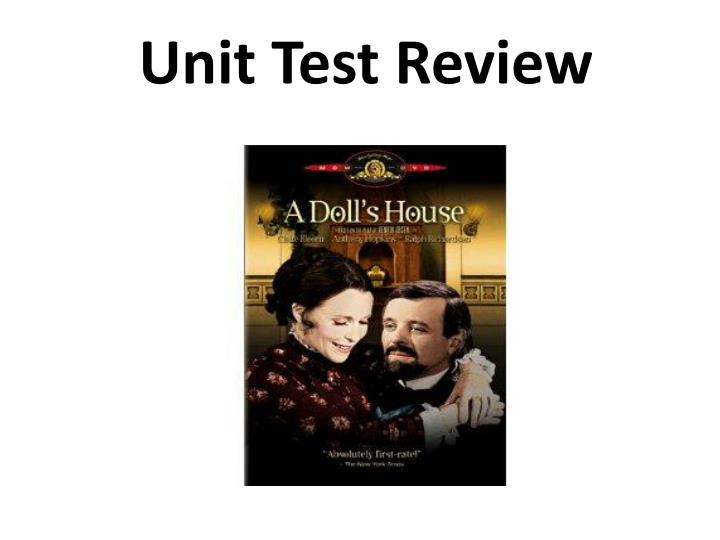 unit test review n.
