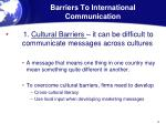 barriers to international communication1