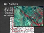 gis analysis