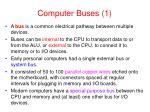 computer buses 1