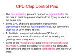 cpu chip control pins2