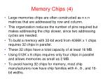 memory chips 4