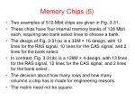 memory chips 5