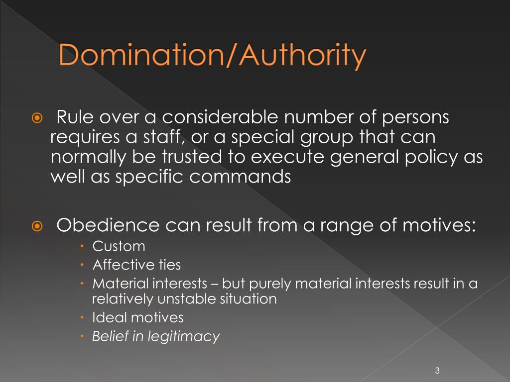 from legitimate types domination the of Quotes