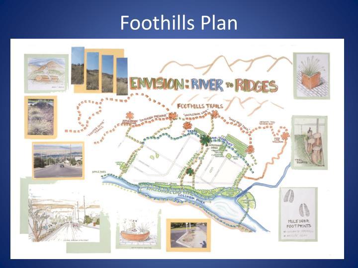 Foothills Plan