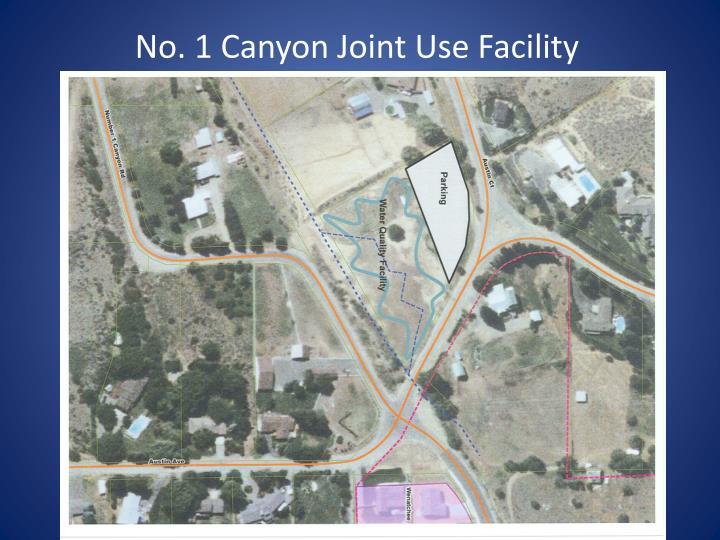 No. 1 Canyon Joint Use Facility