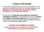 c mo prevenir