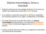 sistema inmunol gico stress y toxicidad