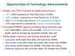 opportunities of technology advancements
