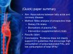 quick paper summary