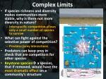 complex limits