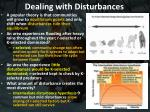 dealing with disturbances