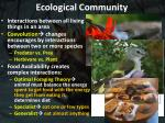 ecological community