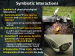 symbiotic interactions