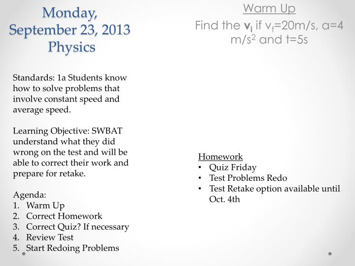 monday september 23 2013 physics n.