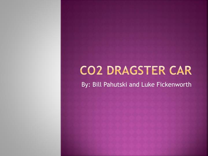 co2 dragster car n.