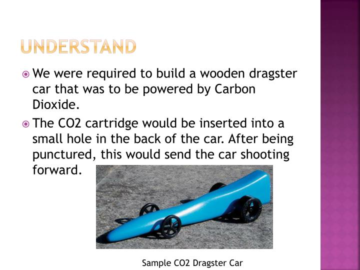 wooden co2 cars ppt co2 dragster car powerpoint presentation id2213844