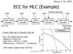 ecc for mlc example