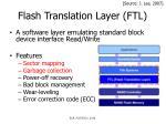 flash translation layer ftl